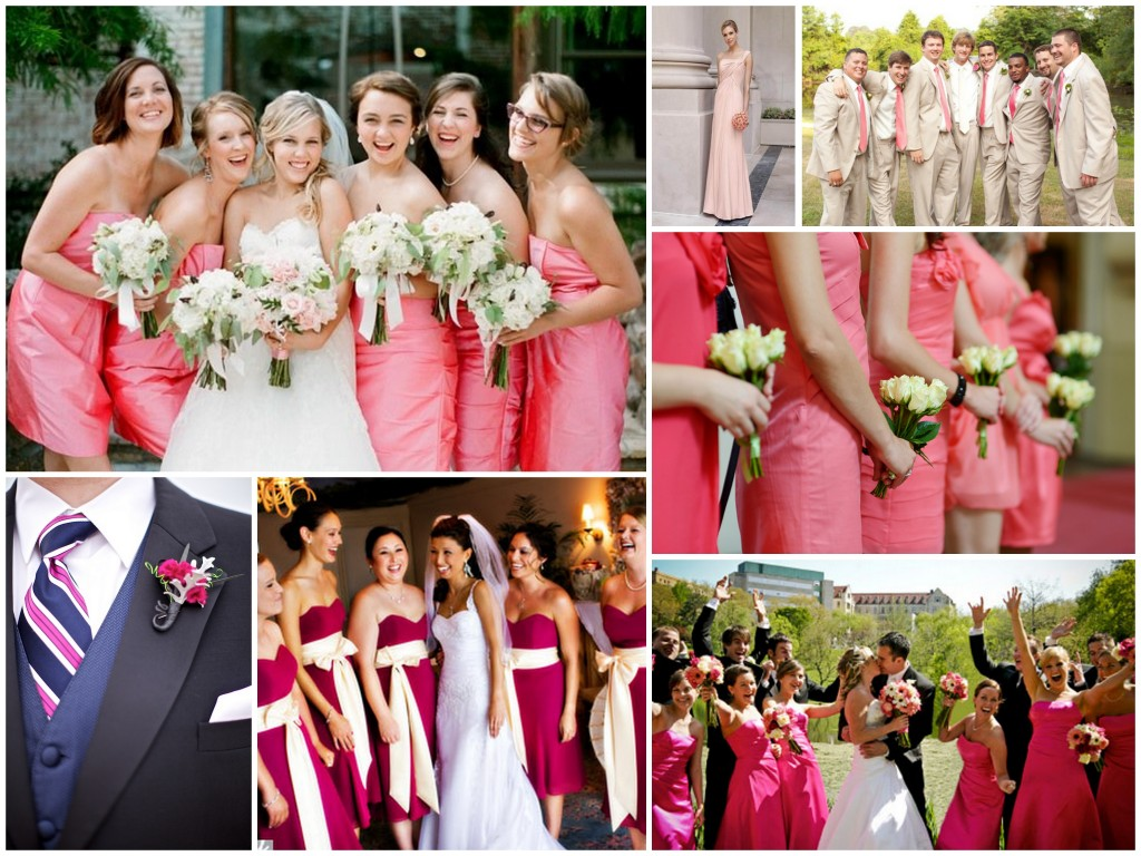 So romantic pink theme for your wedding dream irish wedding the junglespirit Image collections