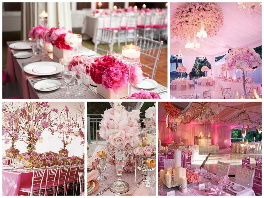 So Romantic Pink Theme for Your Wedding - Dream Irish Wedding