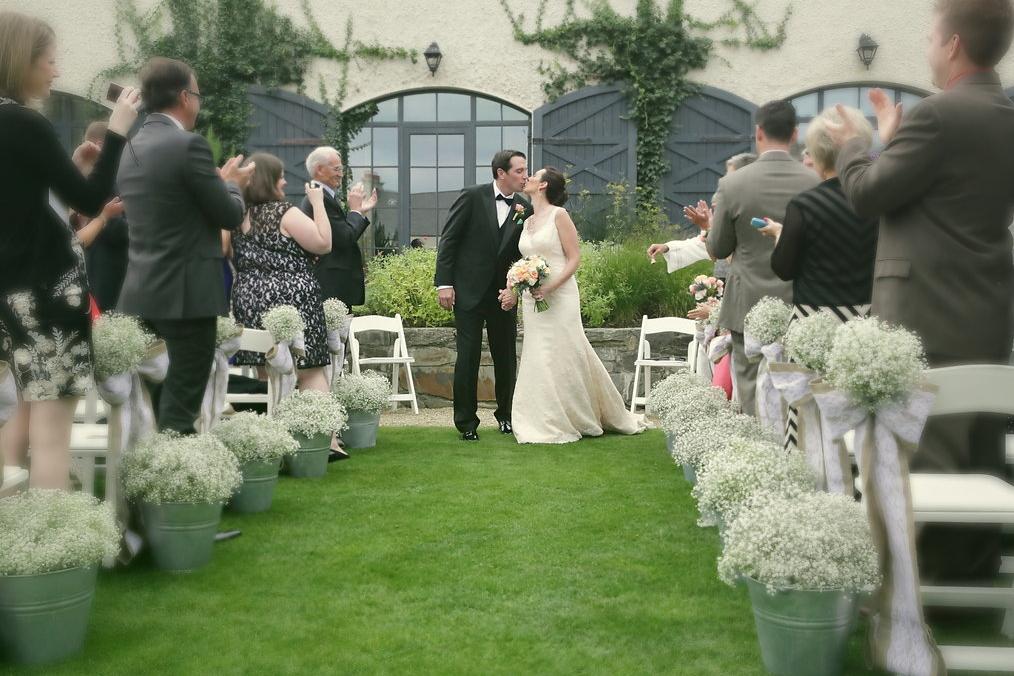 A Perfect Outdoor Wedding Ceremony In Ireland