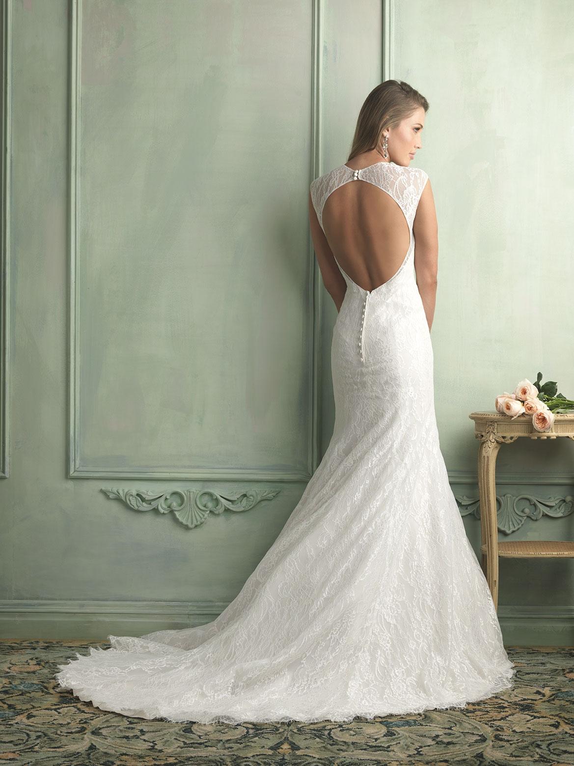 Vera-Wang-Backless-Wedding-Dresses-And-Gowns-2014 - Dream Irish Wedding