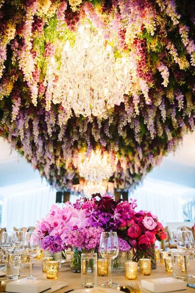 Our Top 7 Ways To Include Flowers In Your Wedding Decor Dream