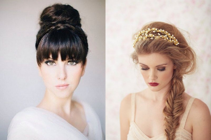 Top Tips to find the perfect Wedding Hairstyle for your Face Shape ...