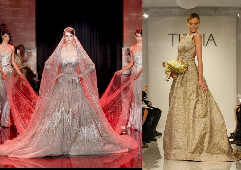 Big Trend of 2015: Coloured Bridal Gowns - Dream Irish Wedding