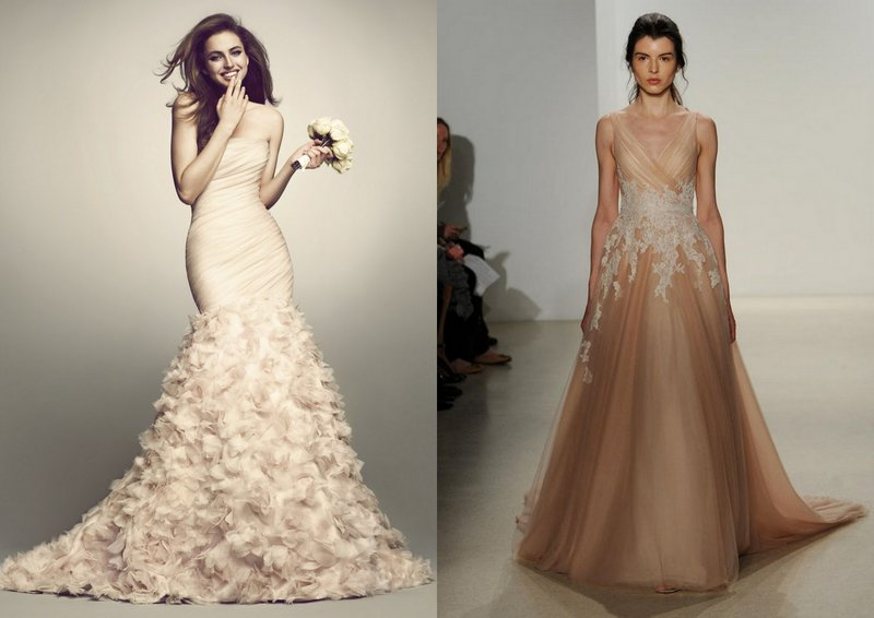 Big Trend of 2015: Coloured Bridal Gowns - Dream Irish Wedding